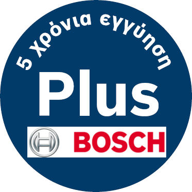 5 xronia bosch plus guarantee